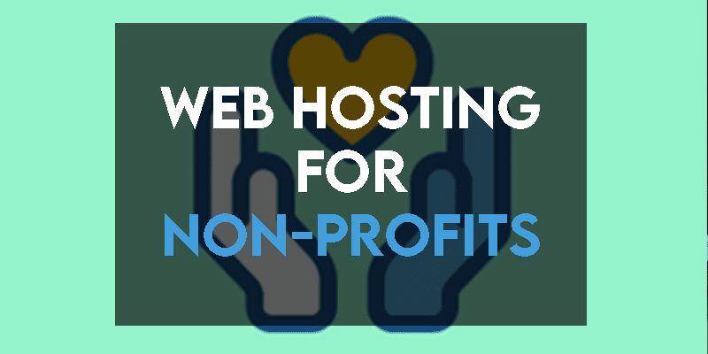 Web Hosting for Non-Profits
